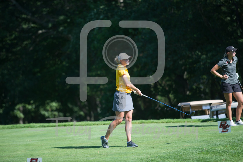 Sept. 24, 2017, Blue Hills Country Club, Canton, MA: during the 2017 Boston College Invitional