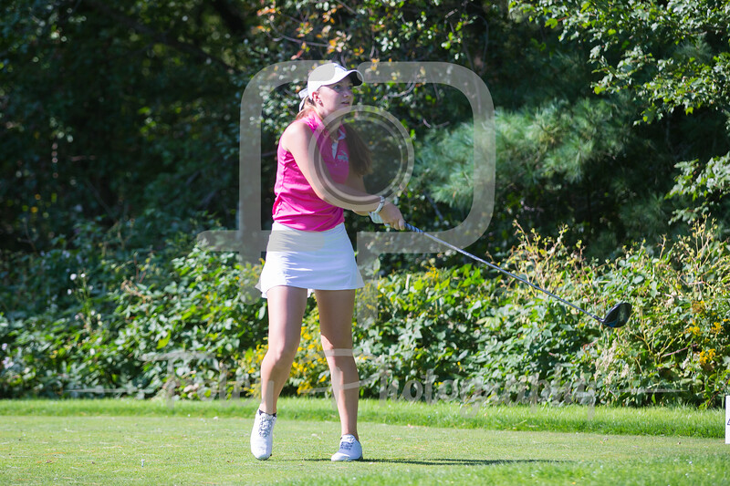 Sept. 25, 2017, Blue Hills Country Club, Canton, MA: during the 2017 Boston College Invitational.