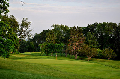 Third Green, Oakley Country Club