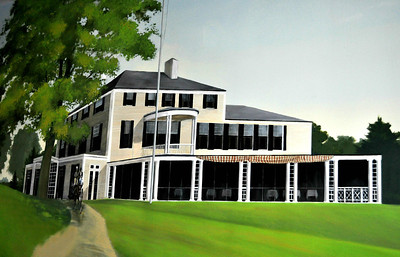 Mural of old Oakley Club House.