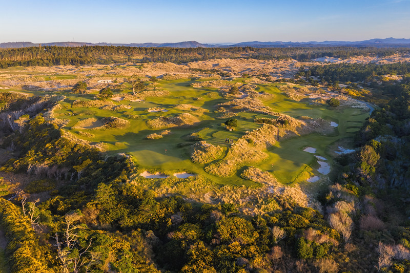 Aerial view of Bandon Preserve