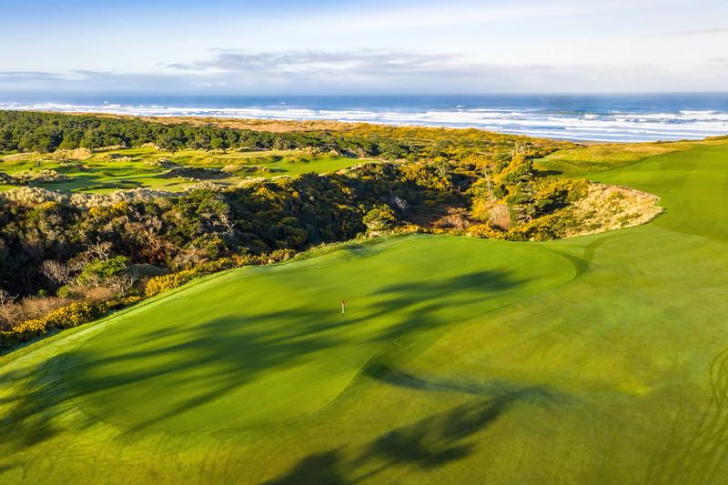 Bandon Dunes Golf Course, Hole #17, Par 4