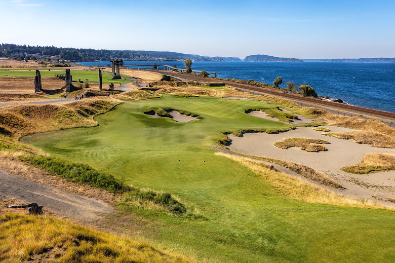 Chambers Bay Golf Course, Hole #17