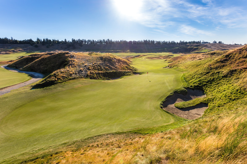 Chambers Bay Golf Course, Hole #10