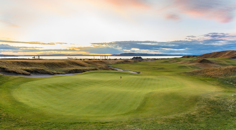 Chambers Bay Golf Course, Hole #18