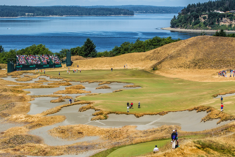 Chambers Bay Golf Course, Hole #14, US Open Championship