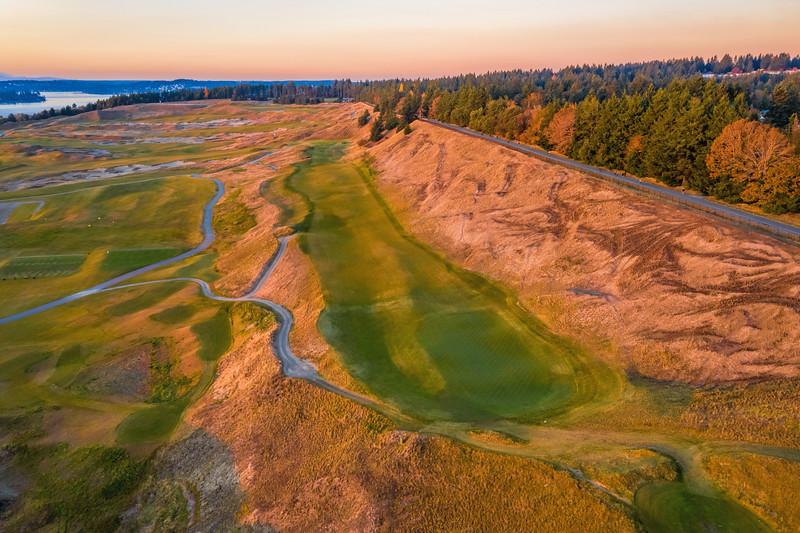 Chambers Bay Golf Course, Hole #8