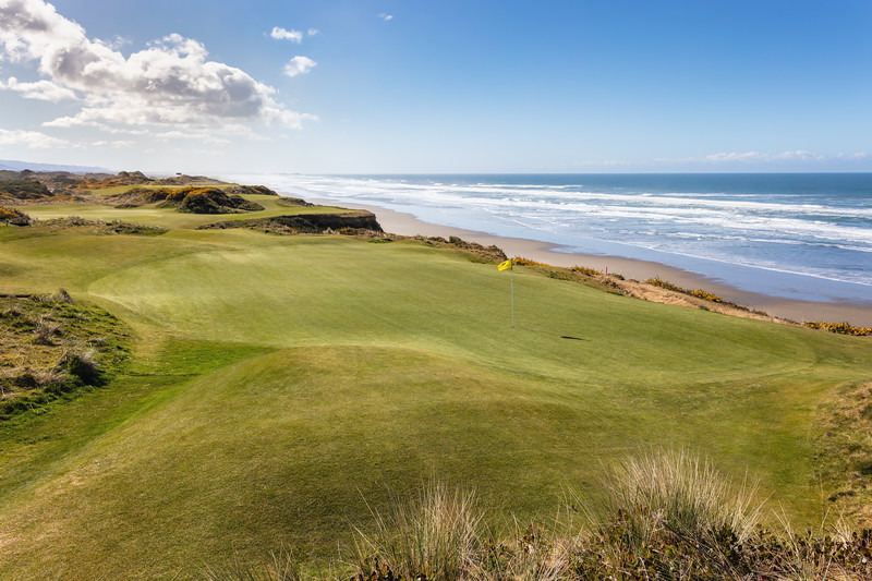 Pacific Dunes Golf Course, Hole #11, Par 3