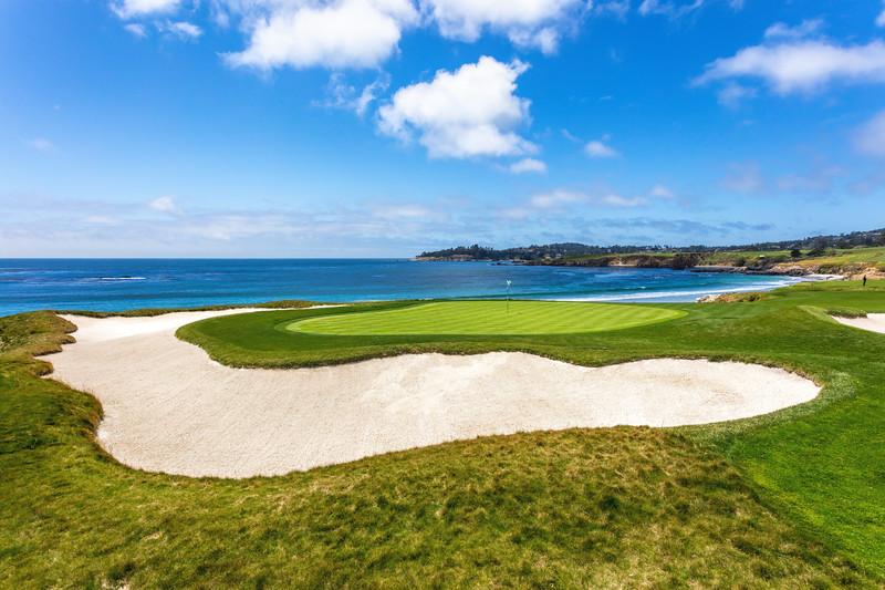 10th Hole at Pebble Beach Golf Links