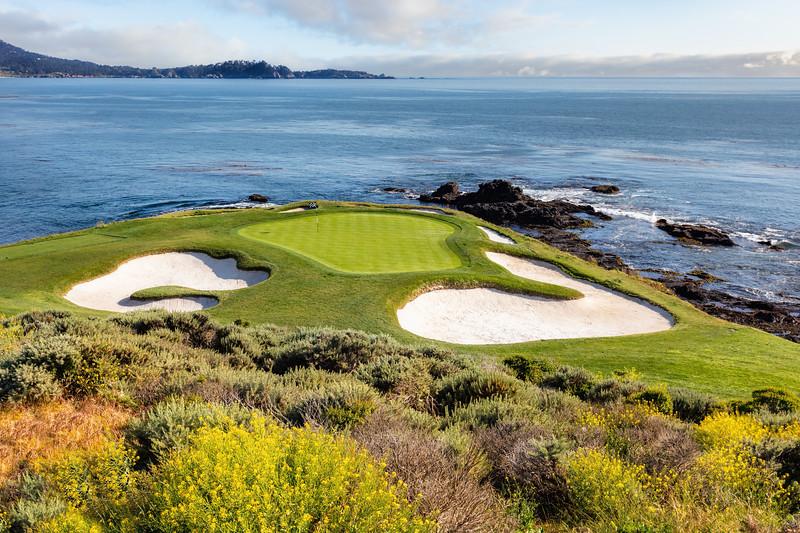 7th Hole at Pebble Beach Golf Links