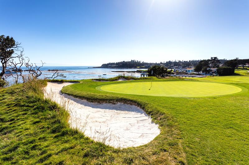 4th Hole at Pebble Beach Golf Links