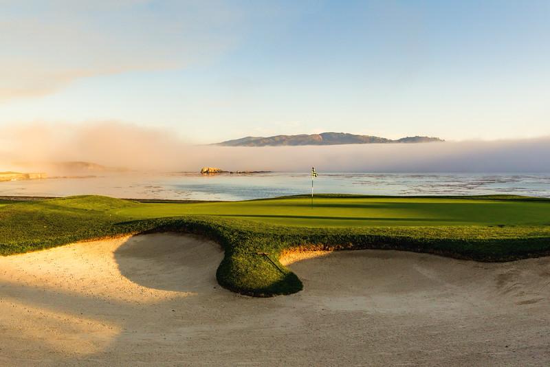 18th Hole at Pebble Beach Golf Links