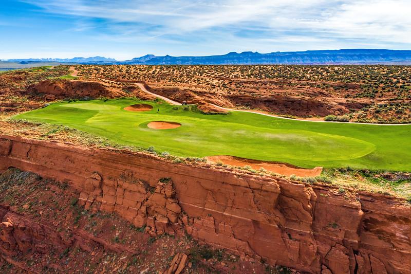 Sand Hollow Golf Course, Par 4, Hole #13
