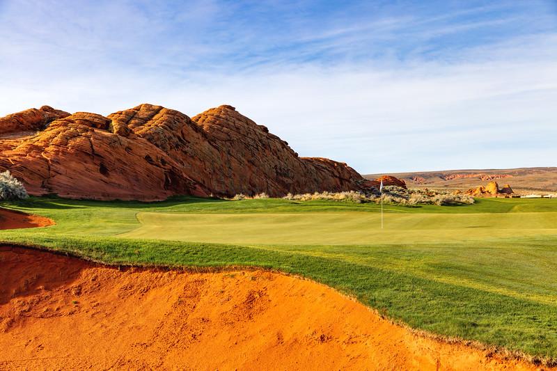 Sand Hollow Golf Course, Par 4, Hole #2