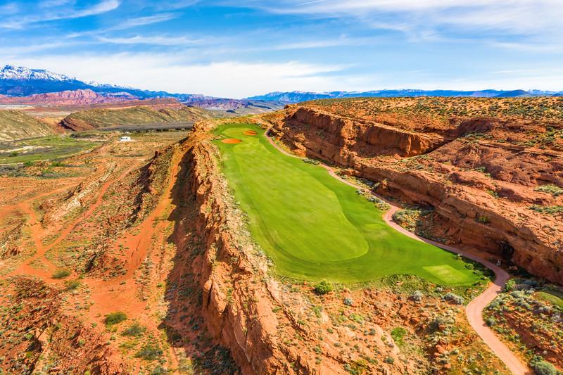 Sand Hollow Golf Course, Par 4, Hole #12