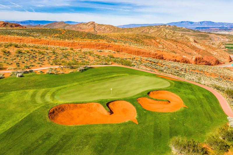 Sand Hollow Golf Course, Par 3,  Hole #11