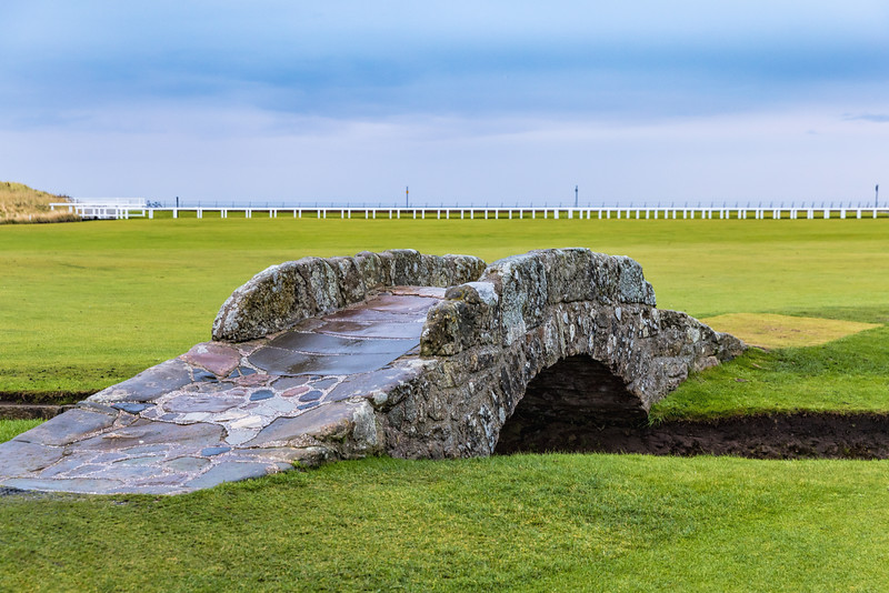 Swilcan Bridge,  Old Course at St Andrews