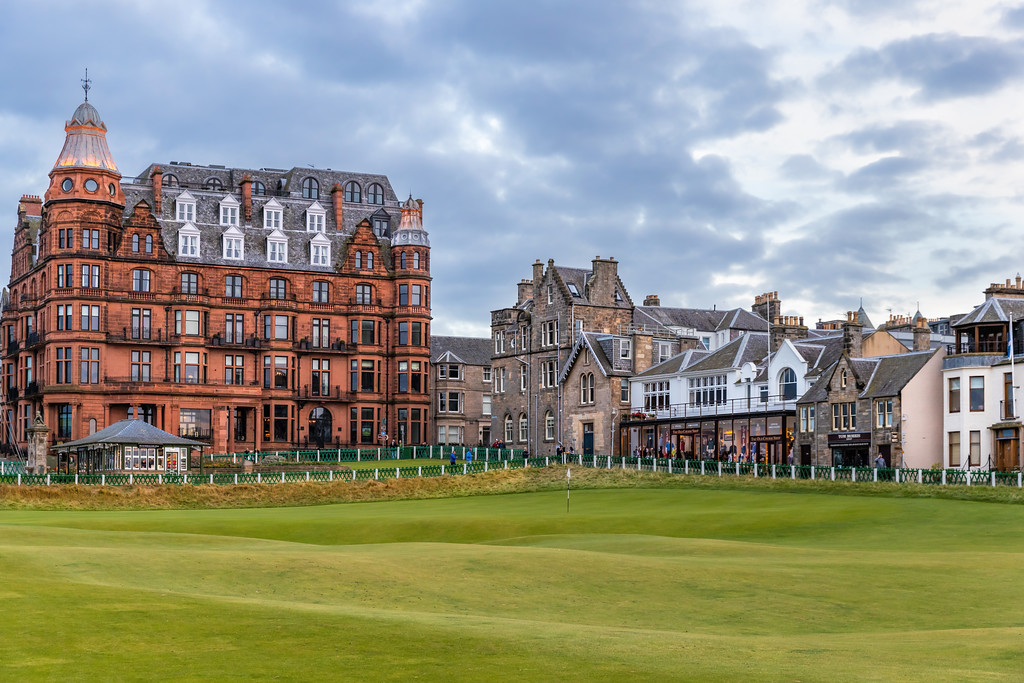 The Old Course at St Andrews, Hole #18, Par 4, Tom Morris