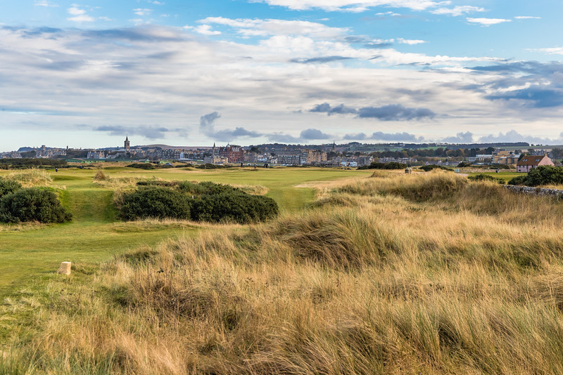 The Old Course at St Andrews, Hole #12, Par 4, Heathery