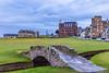 Swilcan Bridge,  Old Course at St Andrews, Hole #18, Par 4, Tom Morris