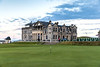 The Old Course at St Andrews, Hole #18, Par 4, Tom Morris, R&A Clubhouse
