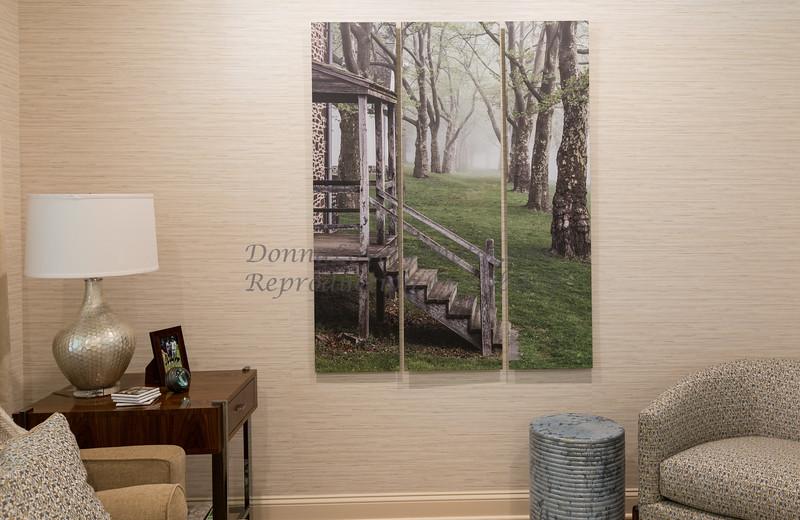 Donna Lovely Photos,McConkeys Tavern in Fog triptych & furniture©DonnaLovelyPhotos com -