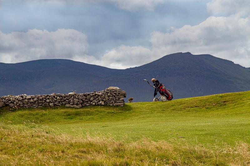 Tralee Golf bag & Rock Wall,20110711-Tralee Golf, Ireland, 7-11-11©DonnaLovelyPhotos com-2199 Lum4