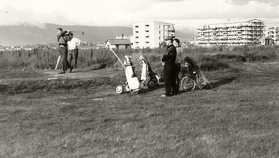 Á 5. teig sumarið 1959