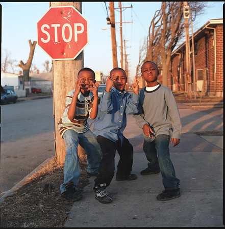 11 - Kids in Front of Stop Sign