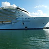 Sharing the channel with this guy, really huge cruise ship with many others in Canaveral carrying tourists in and out.