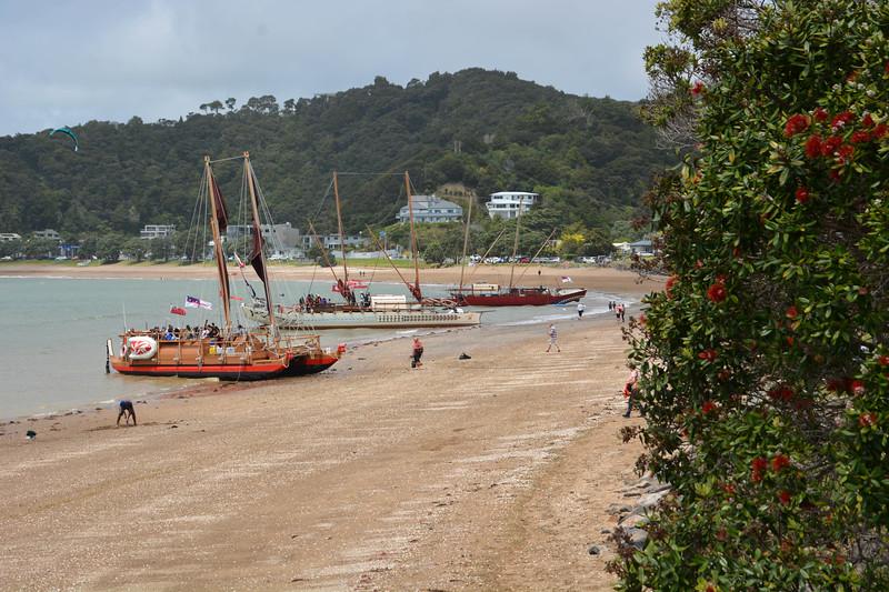 Replica Polynesian blue water cruisers