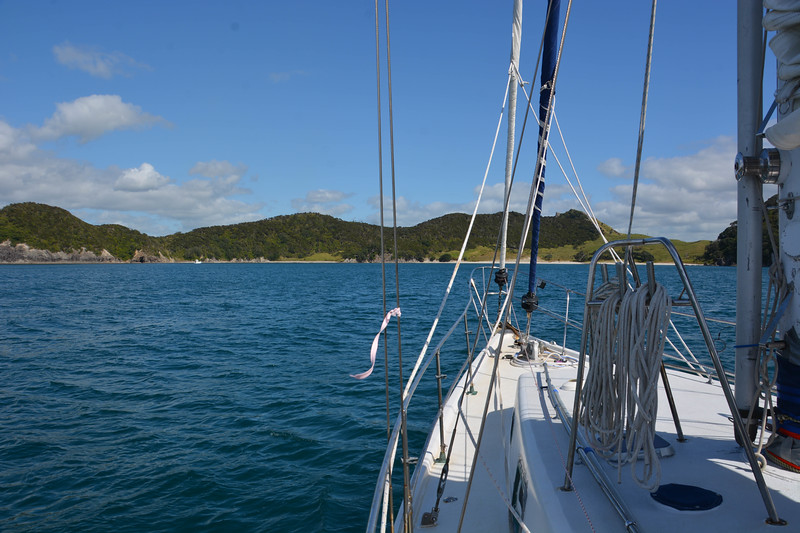 Anchored in Smugglers Cove