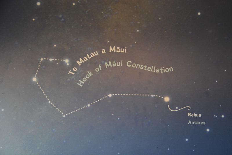 Polynesian star chart