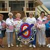 Gold Star Mothers visiting the former Khe Sanh Combat Base...John Van Dusen's mother third from the left