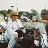 "John Van Dusen's mother riding with ""Rolling Thunder"" at Washington DC. Memorial Day 2007"