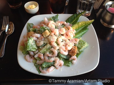 Caesar with shrimp Aug. 24, 2014