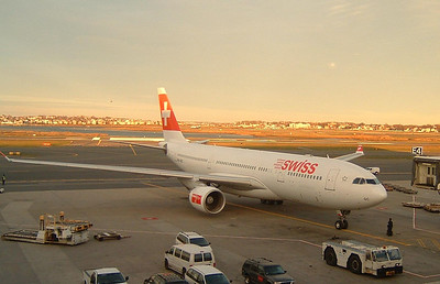 Swiss Int'l A330 departing for Zurich