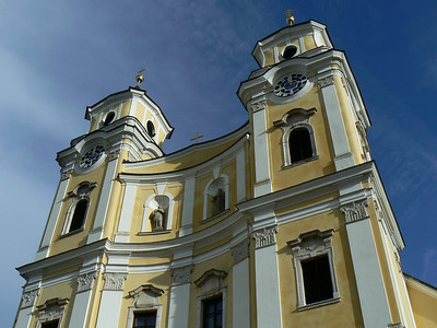 """Mondsee Dom  Famous for the """"Sound of Music"""" wedding scene."""