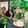 2017-04-02 GDD Rabbi receives Simple Green Bag from Shoreshim volunteers