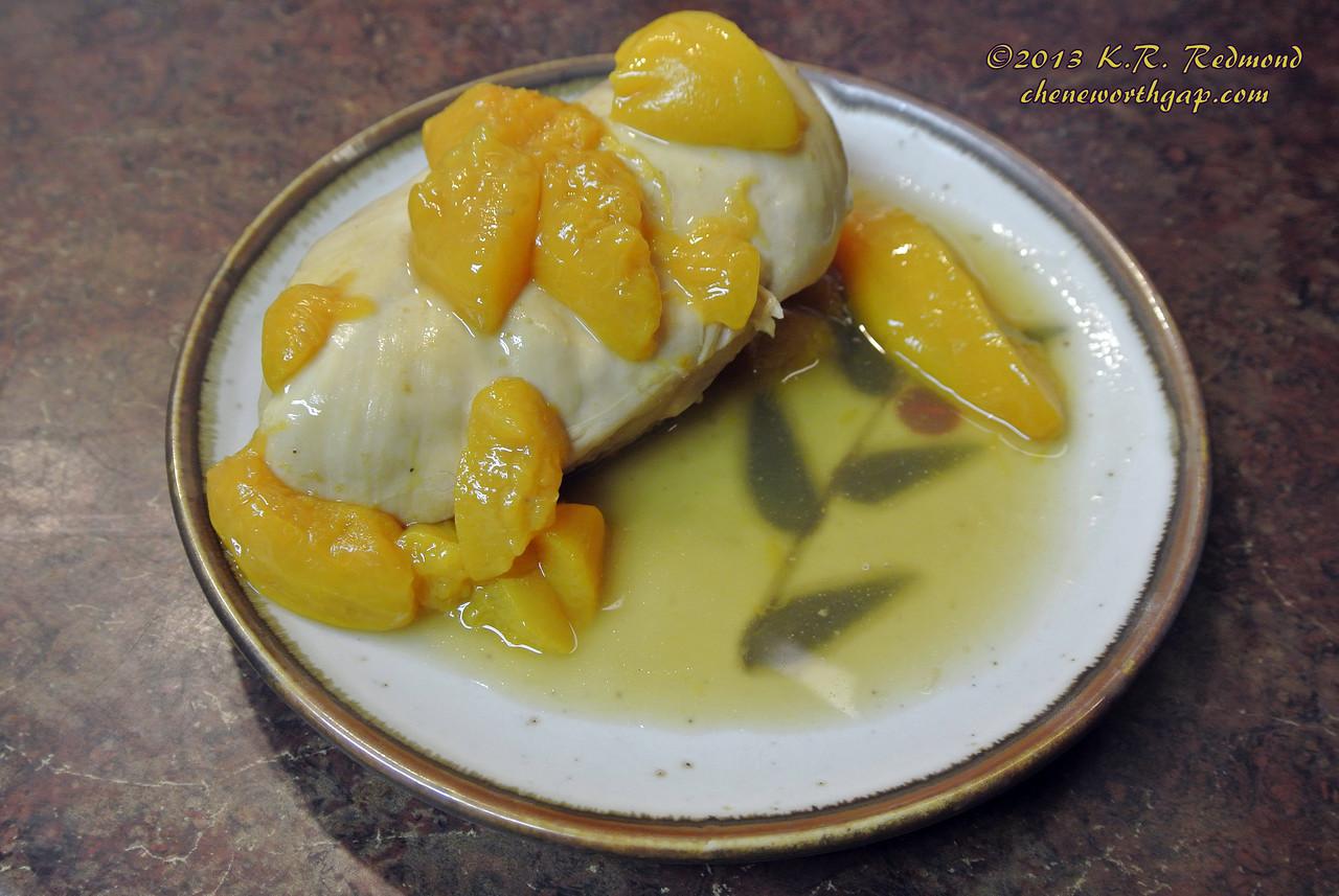 Peachy Keen Chicken