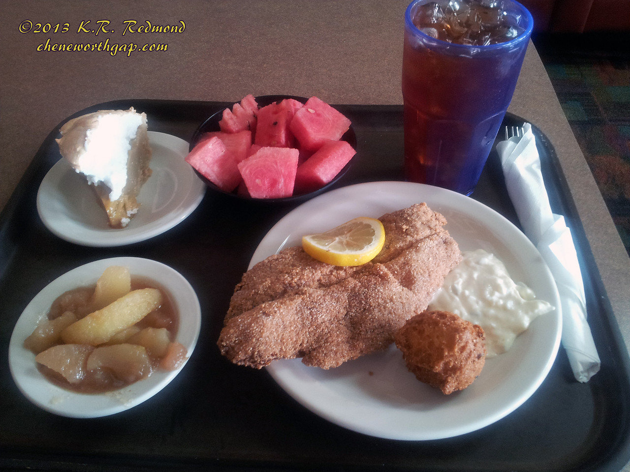 Catfish Day at Wright's Cafeteria