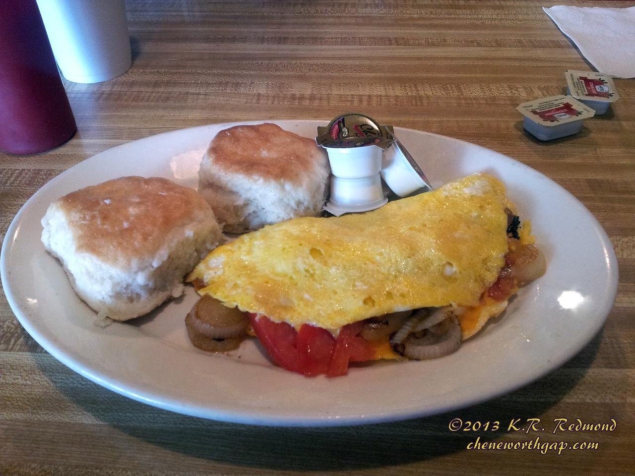 Scotties Veggie Omelette