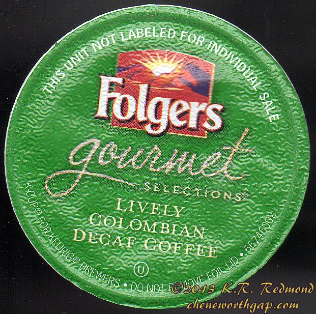 Folger's Gourmet Colombian Decaf