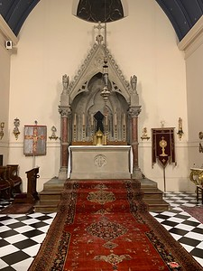 High Altar before the Mass of the Pre-Sanctified