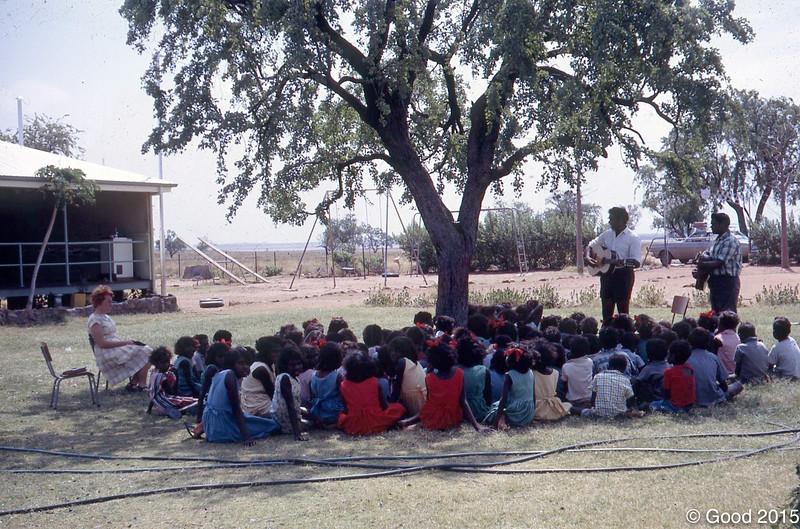 1968 RI class at Fitzroy Crossing school