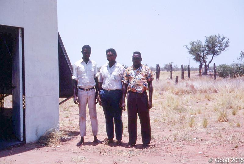 1968 Jimmy Bieundurry, Colin Green and  David Street