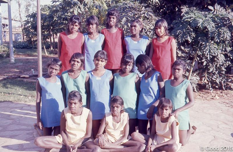 1974 School sports day