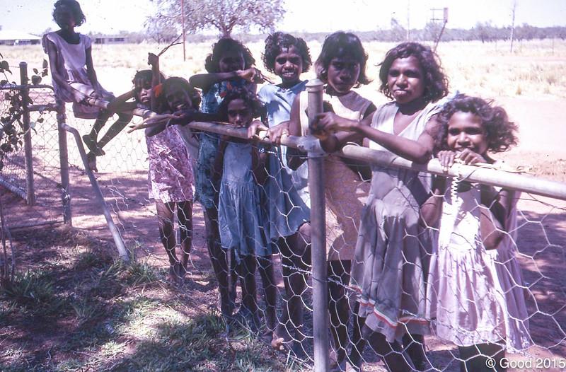 1972 Girls form the hostel