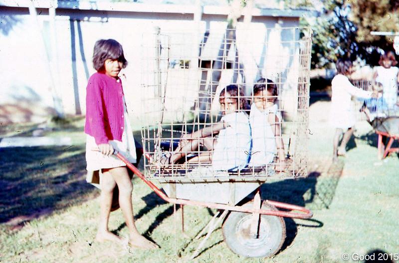 1977 Girls at girls hostel