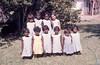 1974 Top- Louraine Cherabun, Nancy Buck, Eileen Malay, Roslyn Malay. Bottom- Marry Leison, Jenifer Rogers, Dawn Smith, Norma Malay